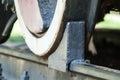 Train wheel brake Royalty Free Stock Photo