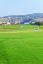 Training Golf Field for Range Shots, Cyprus Royalty Free Stock Photo