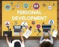 Training school development literacy wisdom concept Stock Image