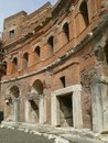 Trajan's forum and market in Rome Stock Images