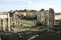 Trajan s forum traiani is an ancient structure in rome italy constructed on the order of emperor Stock Image