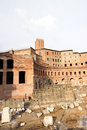 Trajan's Market in Rome Royalty Free Stock Image