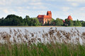 Trakai Castle Royalty Free Stock Photography