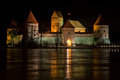 Trakai castle Royalty Free Stock Photo