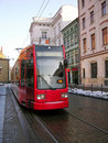 Tram in Krakow Royalty Free Stock Photography