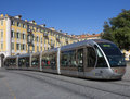 Tram - Nice - South of France Stock Images