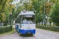 stock image of  Tram in old part of Krakow