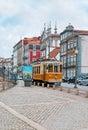 The tram in Porto