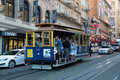 Tram in San Francisco Royalty Free Stock Images