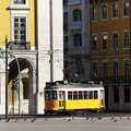 Tram square Royalty Free Stock Photo
