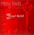 Trame de Noël Images stock