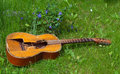 Trampled  Old Guitar