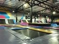 Trampolines indoor jumping. Next generation bounce playground and fun activity for all ages.
