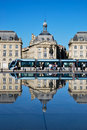 The tramway in Bordeaux Stock Photography