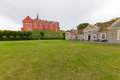 Tranekær castle Royalty Free Stock Photo