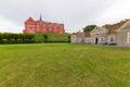 Tranekær castle Royalty Free Stock Photo