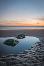 Tranquil rockpool Royalty Free Stock Photo