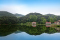 Tranquil scenery in lushan Stock Photography