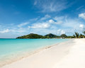 Tranquility Bay in Antigua Royalty Free Stock Photo