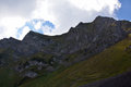 Tranquill mountain landscape in the caucasus Stock Photo