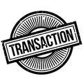 Transaction rubber stamp