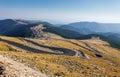 Transalpina the highest altitude road