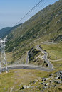 Transfagarasan, best road in the world Royalty Free Stock Photo