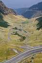 Transfagarasan detail - twisty bends Royalty Free Stock Photos