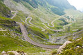 Transfagarasan mountain road romanian carpathians Stock Photography