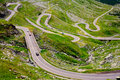 Transfagarasan road in Romania Stock Photography