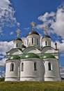 Transfiguration cathedral in murom russia medieval th century the spassky monastery city vladimir region Royalty Free Stock Photos