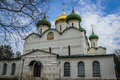 Transfiguration cathedral view of in suzdal russia Royalty Free Stock Images