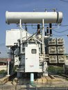 Transformer in substation Royalty Free Stock Photo