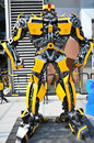 The transformers bumblebee Royalty Free Stock Images