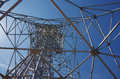 Transmitter tower Royalty Free Stock Photo
