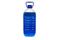 Transparent plastic canister Royalty Free Stock Photo