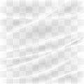 Transparent plastic warp