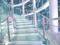 Transparent staircase Stock Photography