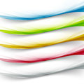 Transparent web colorful border collection Royalty Free Stock Photo