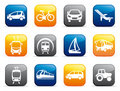 Transport buttons Royalty Free Stock Photo