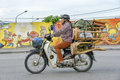 Transport in Hanoi, Vietnam Royalty Free Stock Photo