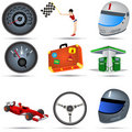 Transport Icons 3 Royalty Free Stock Image