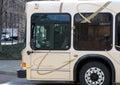 Transport publiczny autobus Fotografia Stock