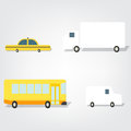 Transport set images this is file of eps format Royalty Free Stock Photography