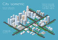 Transportation 3D city