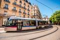 Transportation in Grenoble Royalty Free Stock Photo