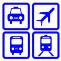 Transportation icon Royalty Free Stock Images