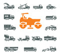 Transportation icons vector format authors illustration in Royalty Free Stock Photo