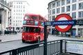 Transporte de Londres Imagem de Stock