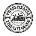 Transylvania rubber stamp Stock Photo